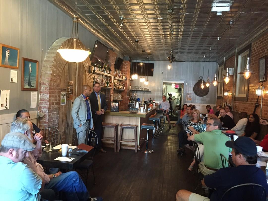 7-23-2015 Weekly Meeting with Jamaal Rashad